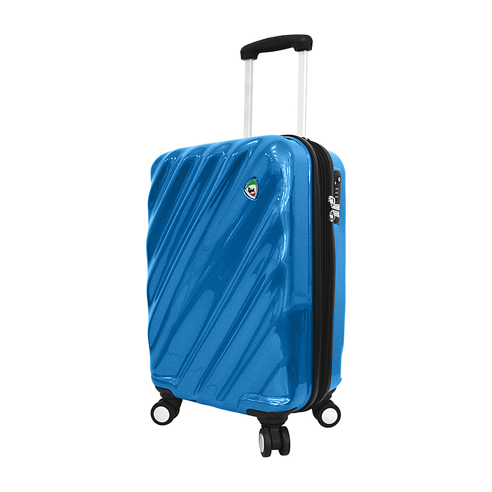 Mia Toro ITALY Onda Fusion Hardside 20 Spinner Carry On Blue Mia Toro ITALY Hardside Carry On