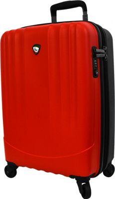 Mia Toro ITALY Polipropilene Hardside 28 inch Spinner Red - Mia Toro ITALY Hardside Checked