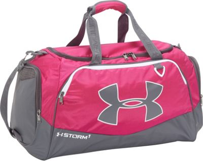Under Armour Undeniable MD Duffel II Tropic Pink/Graphite/White - Under Armour Gym Duffels