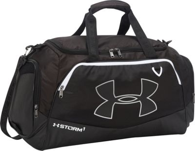 Under Armour Undeniable MD Duffel II Black/Black/White - Under Armour Gym Duffels