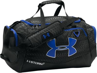 Under Armour Undeniable MD Duffel II Graphite/Black/Black - Under Armour Gym Duffels
