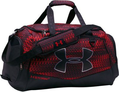 Under Armour Undeniable MD Duffel II Red/Black/Black - Under Armour Gym Duffels