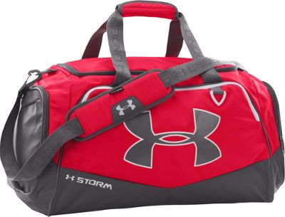 Under Armour Undeniable MD Duffel II Red/Graphite/White - Under Armour Gym Duffels