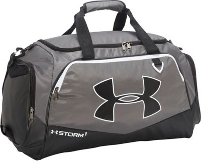 Under Armour Undeniable MD Duffel II Graphite/Black/White - Under Armour Gym Duffels