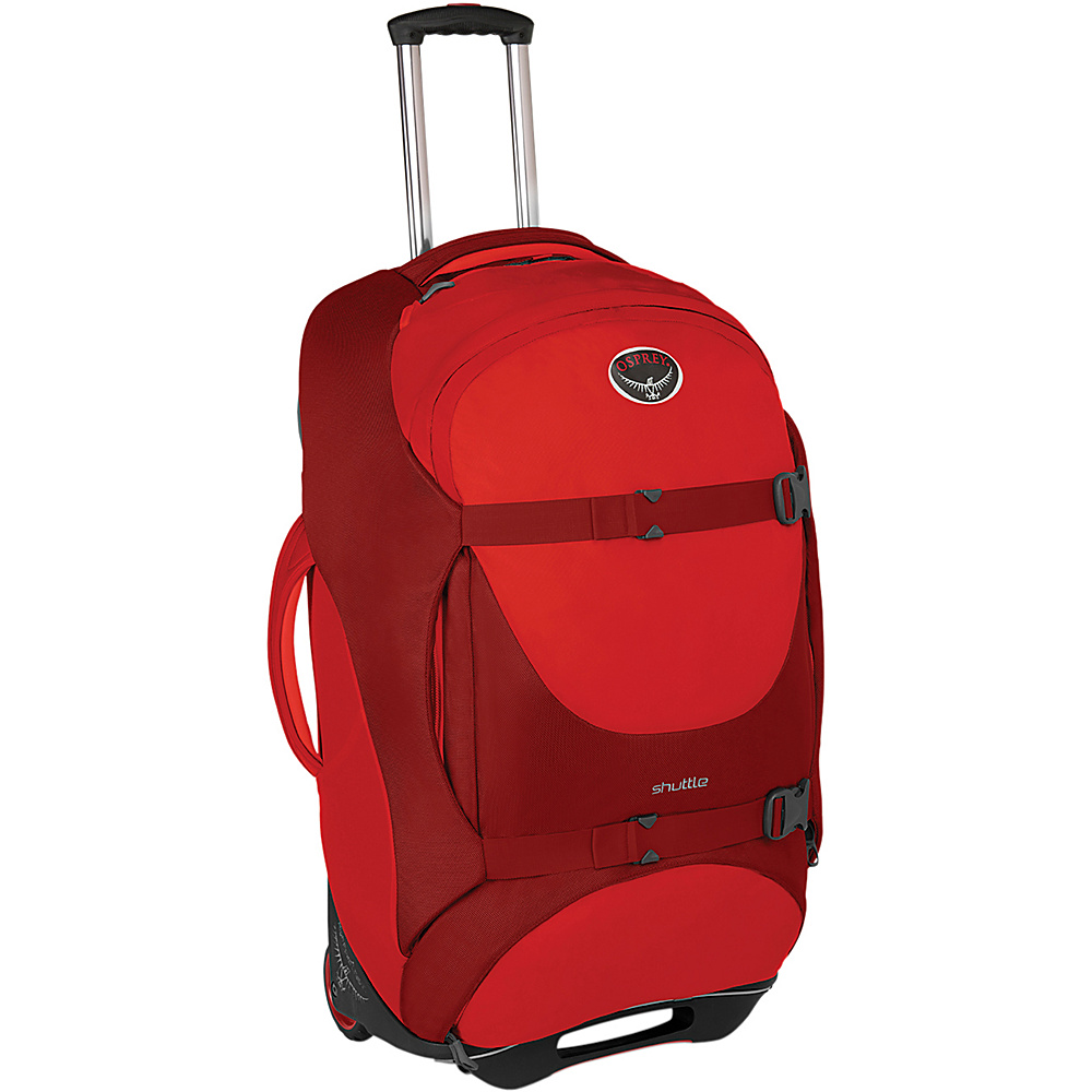 Osprey Shuttle 30 inch/100L Diablo Red - Osprey Softside Checked - Luggage, Softside Checked