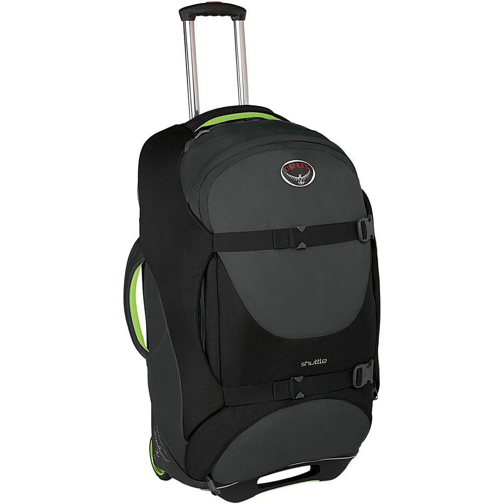 Osprey Shuttle 30 inch/100L Metal Grey - Osprey Softside Checked - Luggage, Softside Checked