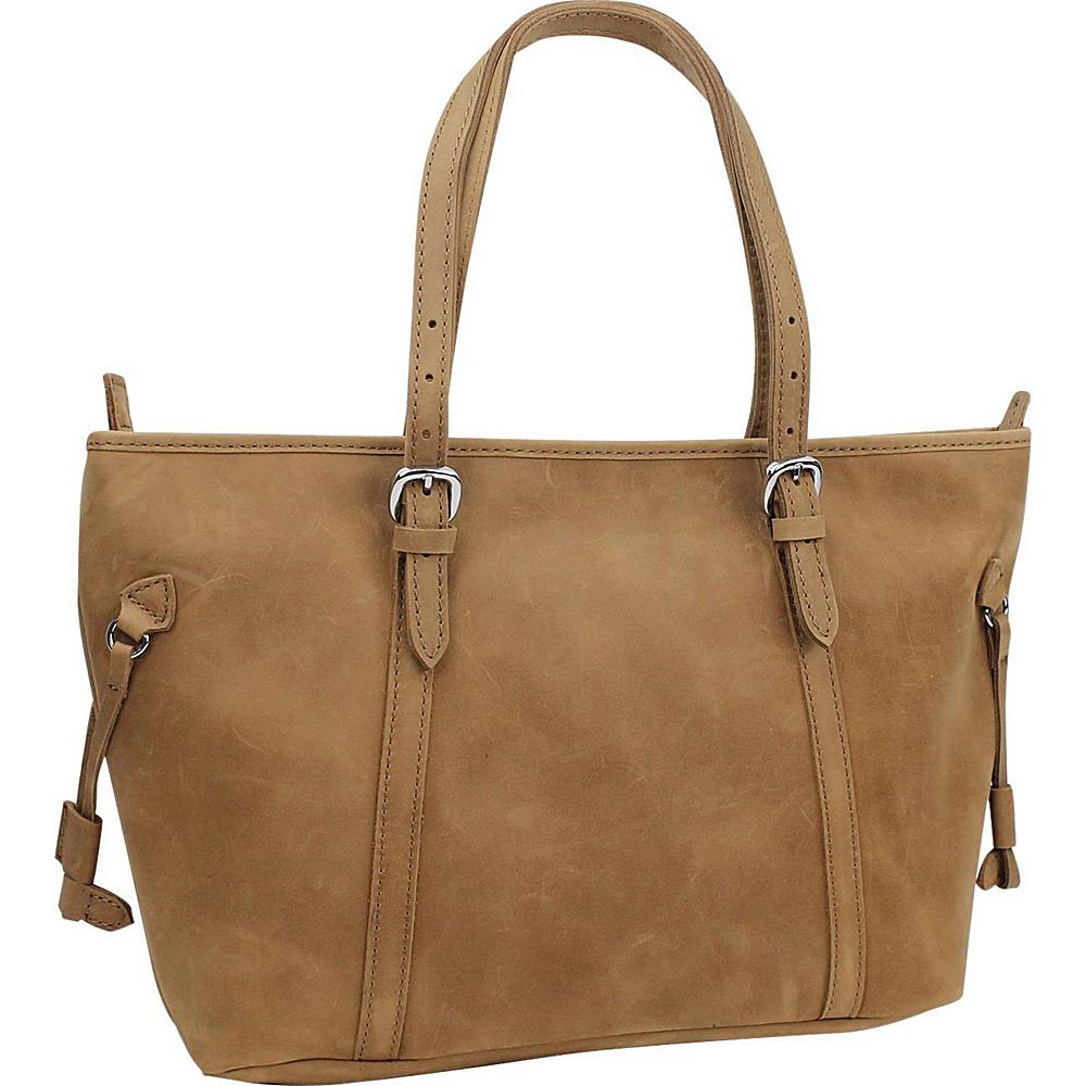 Vagabond Traveler 17 Large Leather Tote Nature Brown - Vagabond Traveler Leather Handbags - Handbags, Leather Handbags