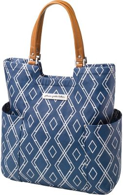 Petunia Pickle Bottom Tailored Tote Indigo - Petunia Pickle Bottom Diaper Bags & Accessories