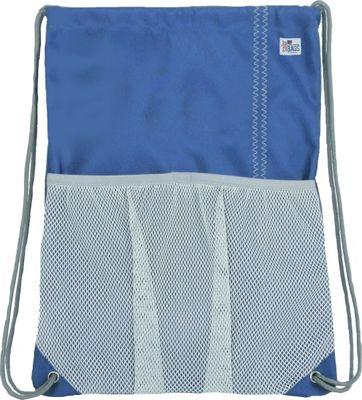 SailorBags Drawstring Bag Blue/Grey - SailorBags Everyday Backpacks