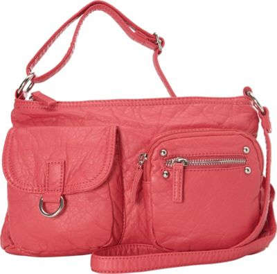 Ampere Creations The Becca Crossbody Coral - Ampere Creations Manmade Handbags