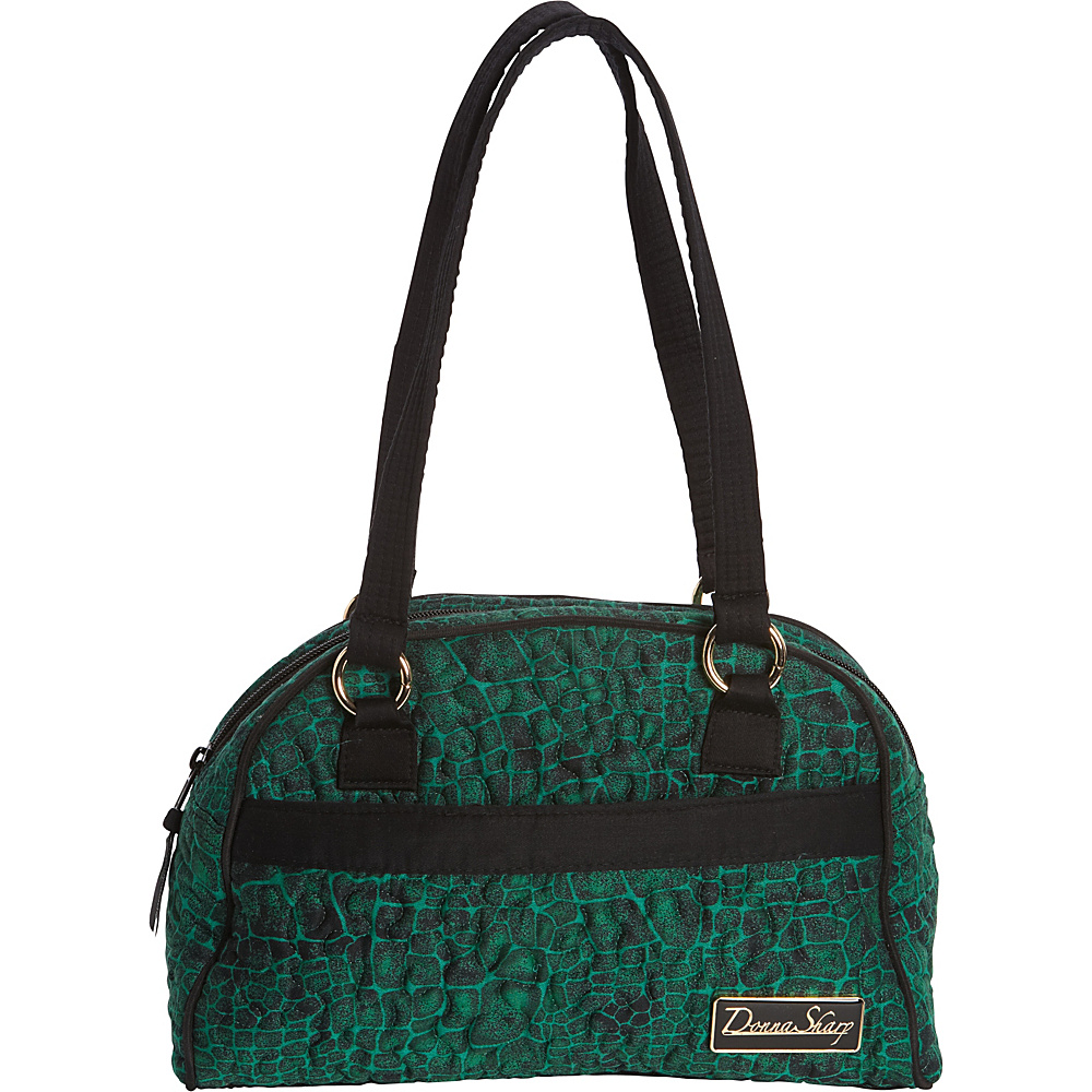 Donna Sharp Elise Bag - Quilted Jade - Donna Sharp Fabric Handbags