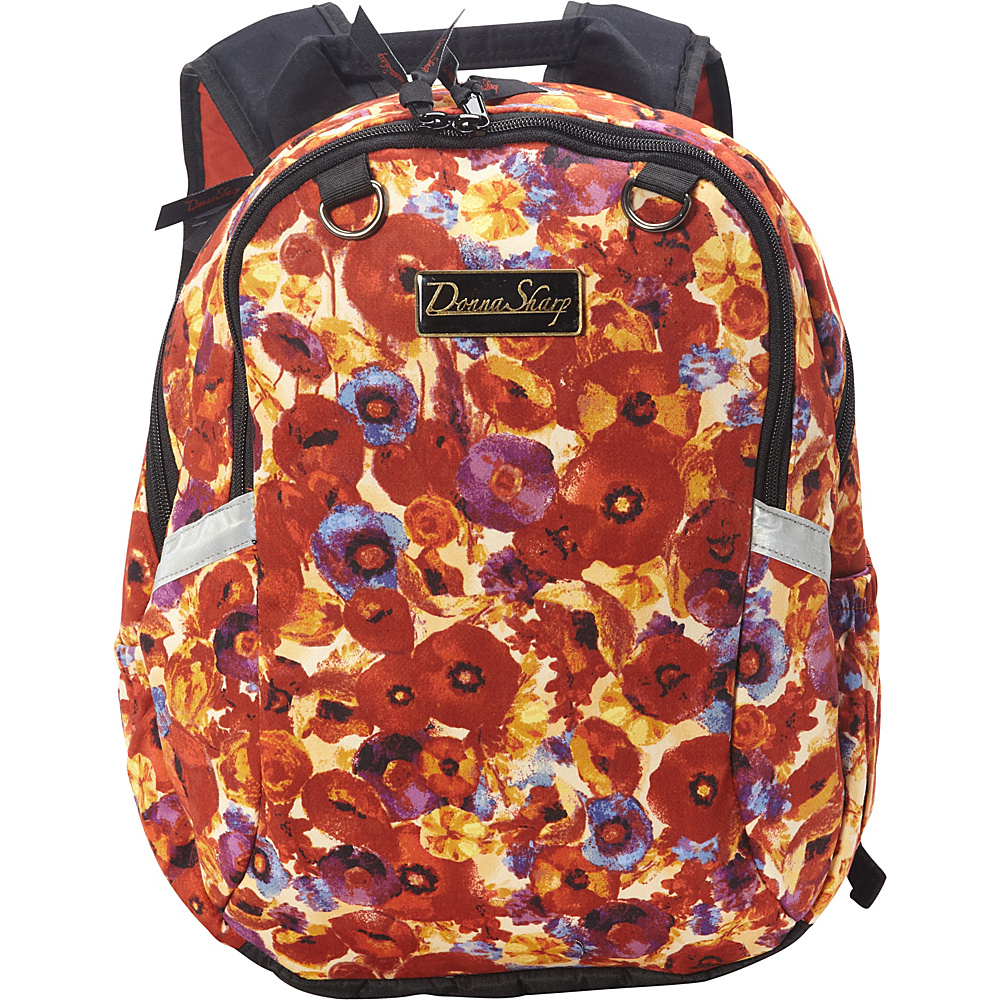 Donna Sharp Christa Backpack Poppy Field Donna Sharp Everyday Backpacks