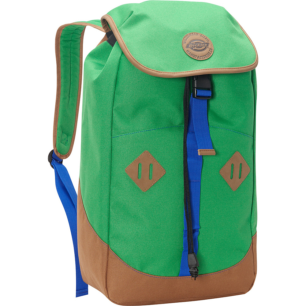 Dickies Pop Top Bag Grass Green Blue Dickies Everyday Backpacks