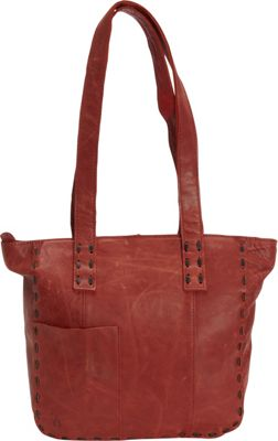 Journey Collection by Annette Ferber London Tote Burgundy - Journey Collection by Annette Ferber Leather Handbags