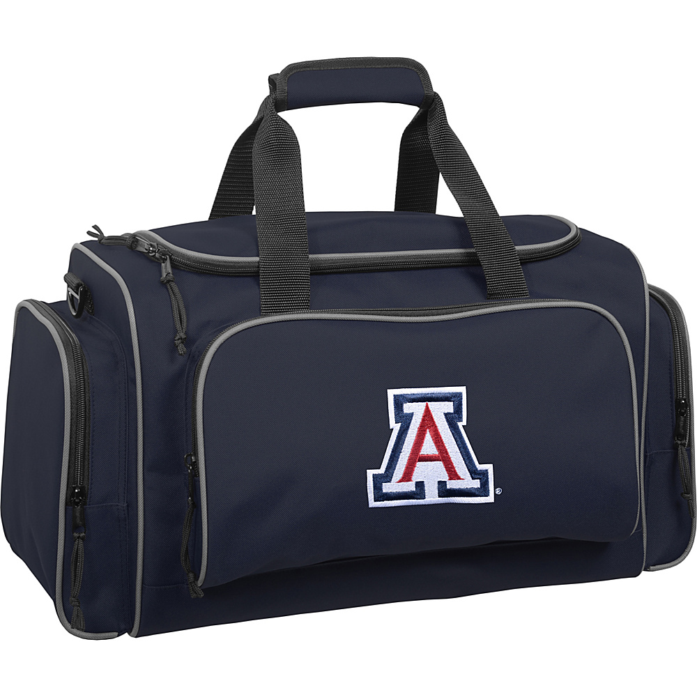 Wally Bags Arizona Wildcats 21 Collegiate Duffel Navy Wally Bags Rolling Duffels
