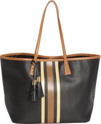 Image of b Luxe Medium London Tote Mod Tortoise - b Luxe Manmade Handbags