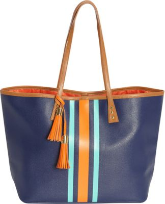 Image of b Luxe Medium London Tote Calypso - b Luxe Manmade Handbags