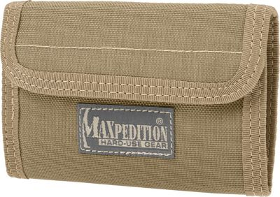 Maxpedition Spartan Wallet Khaki - Maxpedition Men's Wallets