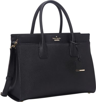 kate spade new york Cameron Street Candace Satchel Black - kate spade new york Designer Handbags