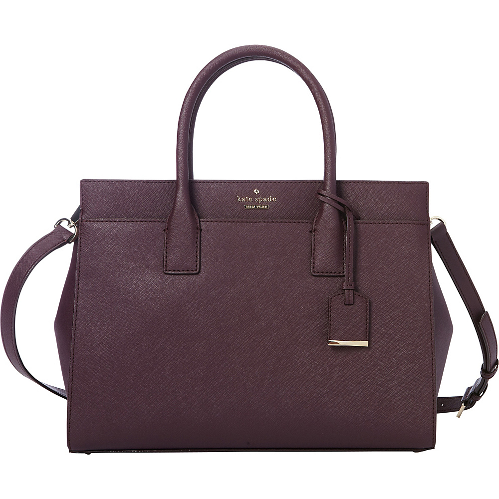 kate spade new york Cameron Street Candace Satchel Mahogany kate spade new york Designer Handbags