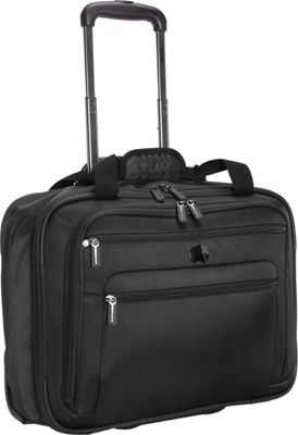 Delsey Helium Sky 2.0 Trolley Tote Black - Delsey Luggage Totes and Satchels