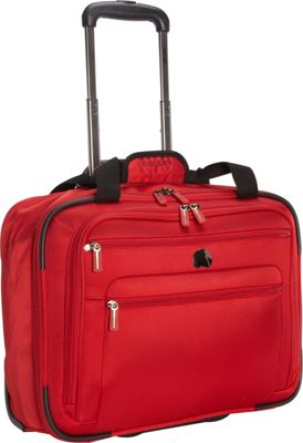 Delsey Helium Sky 2.0 Trolley Tote Red - Delsey Luggage Totes and Satchels