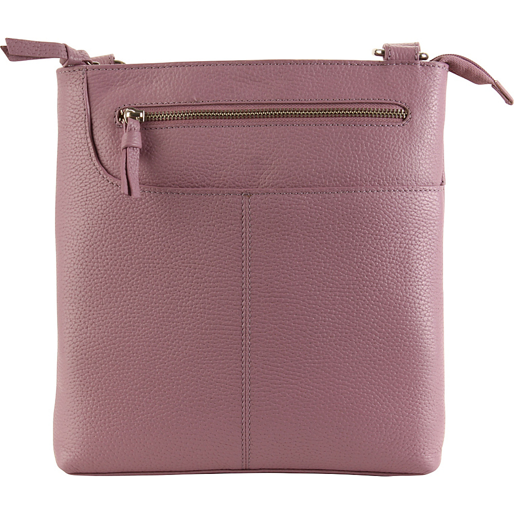 Hadaki Monique Xbody Grapeade - Hadaki Leather Handbags - Handbags, Leather Handbags