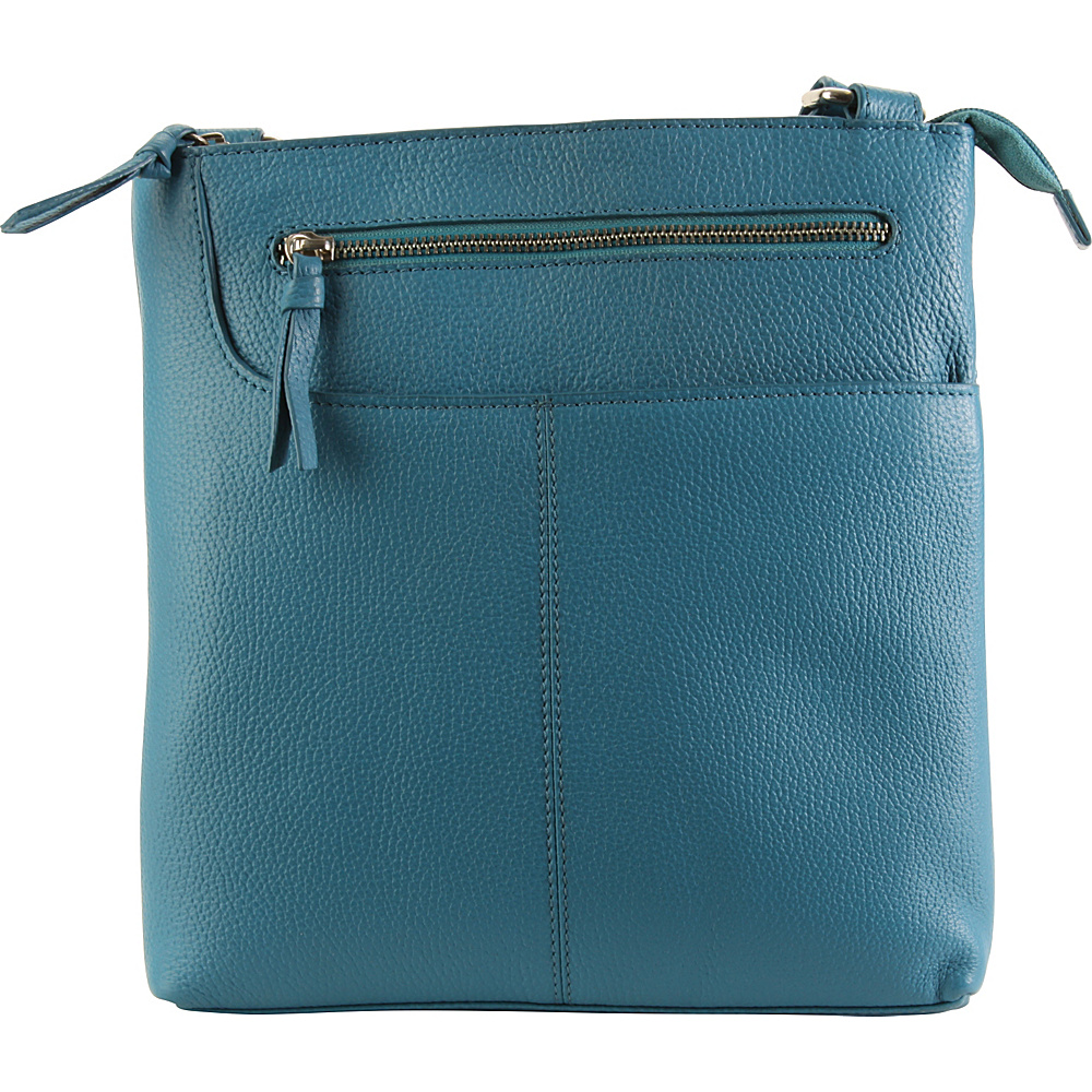 Hadaki Monique Xbody Ocean - Hadaki Leather Handbags - Handbags, Leather Handbags