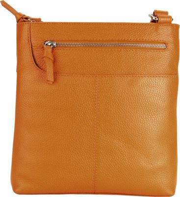 Hadaki Monique Xbody Russet - Hadaki Leather Handbags