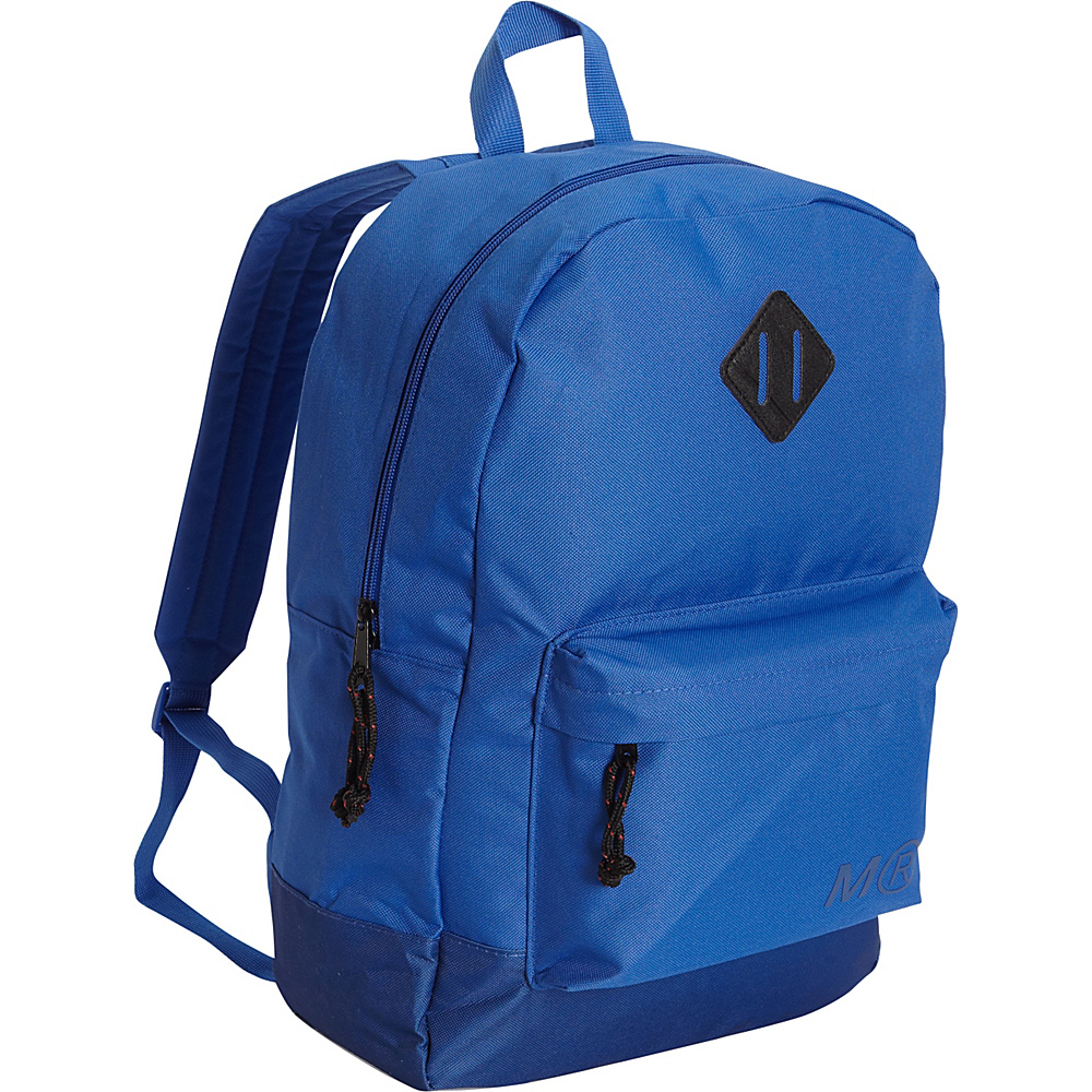 Miquelrius Cobalt Tone on Tone Large Backpack Cobalt Miquelrius Everyday Backpacks