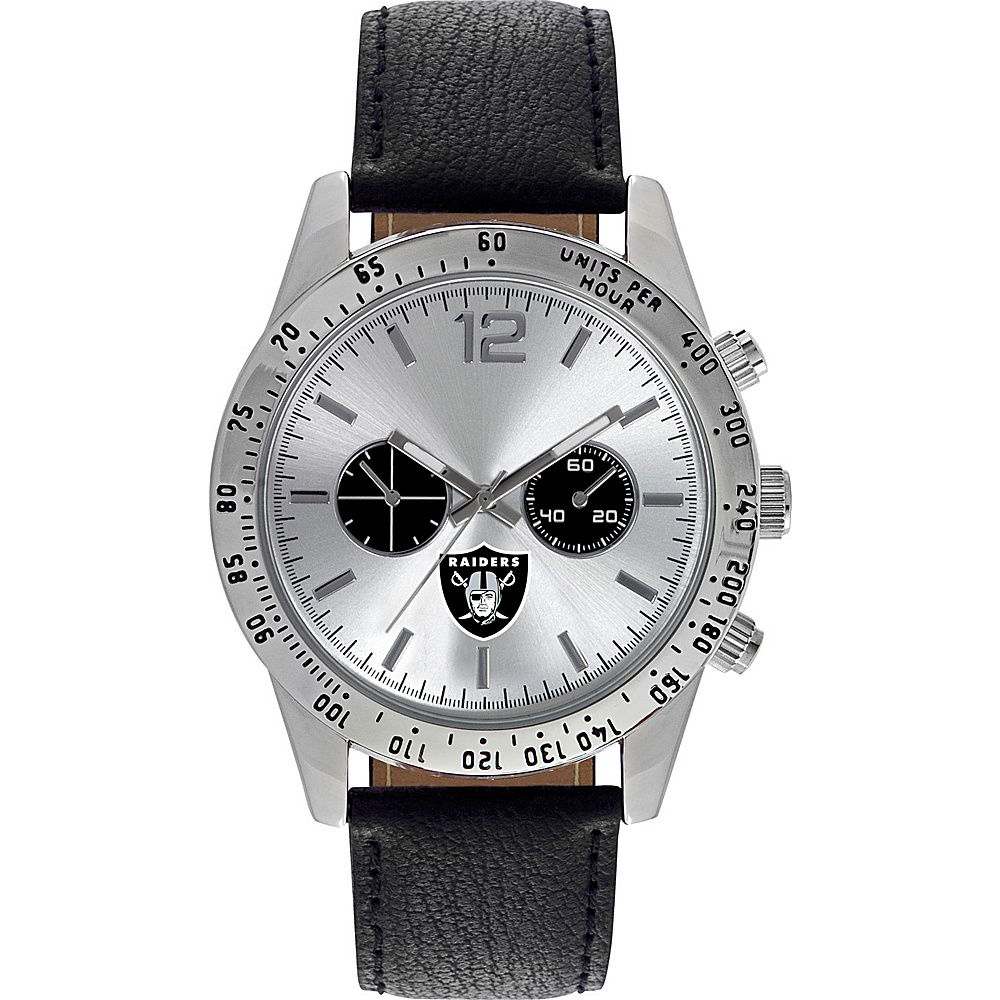 Game Time Letterman NFL Watch Oakland Raiders - Game Time Watches
