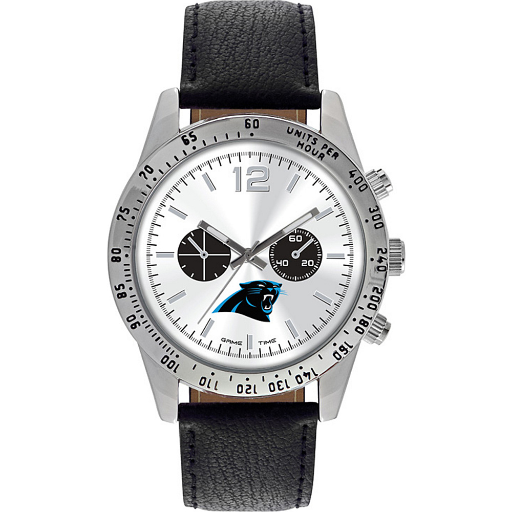 Game Time Letterman NFL Watch Carolina Panthers - Game Time Watches - Fashion Accessories, Watches