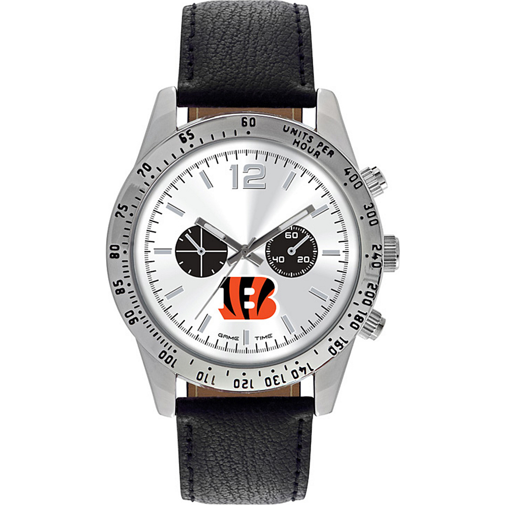 Game Time Letterman NFL Watch Cincinnati Bengals - Game Time Watches - Fashion Accessories, Watches