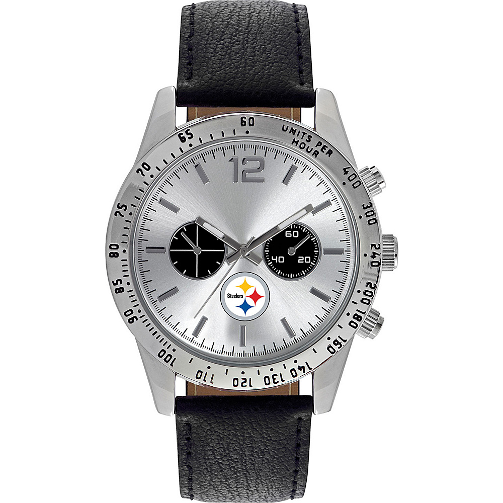 Game Time Letterman NFL Watch Pittsburgh Steelers - Game Time Watches - Fashion Accessories, Watches