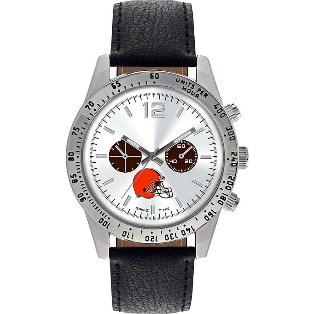 Game Time Letterman NFL Watch Cleveland Browns - Game Time Watches - Fashion Accessories, Watches