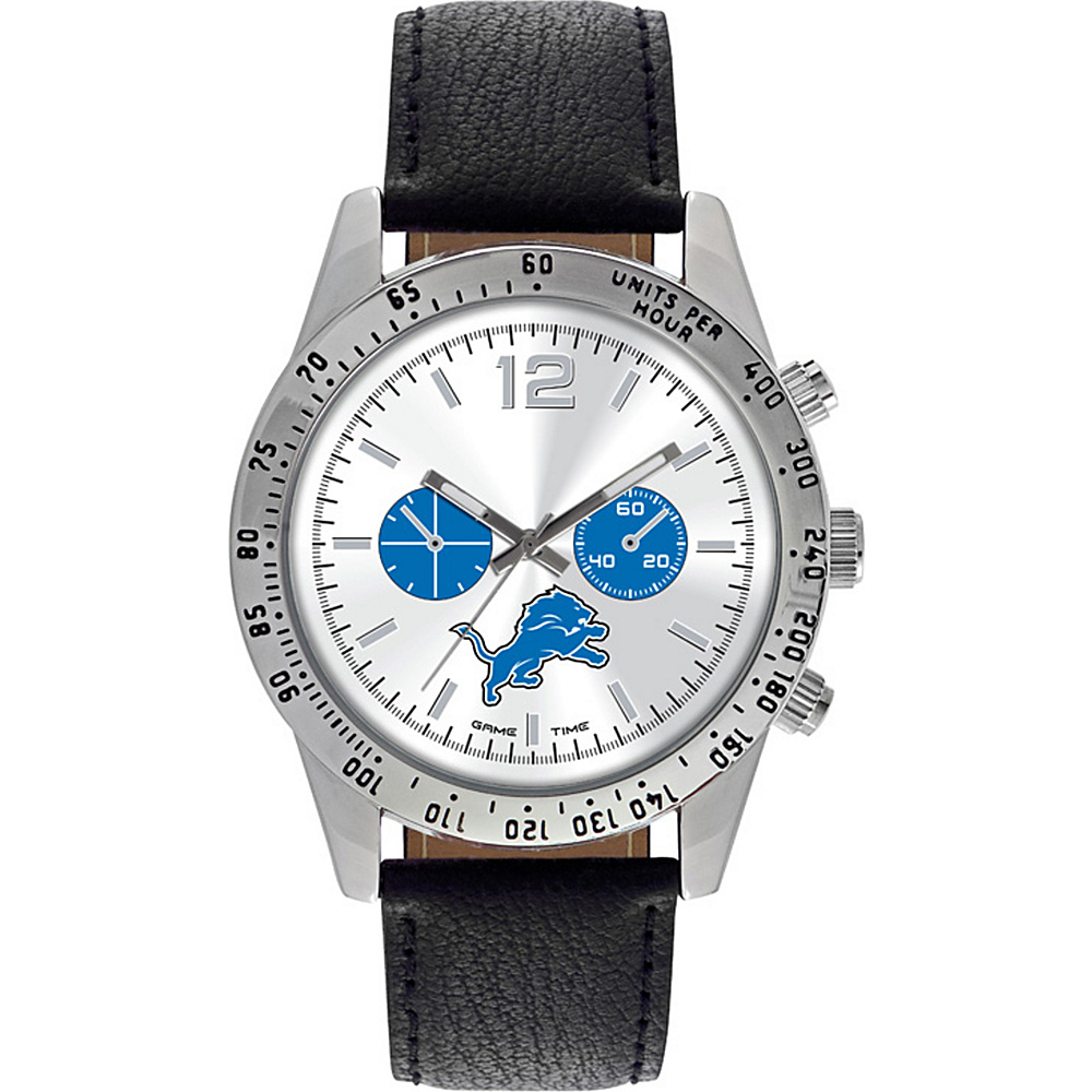 Game Time Letterman NFL Watch Detroit Lions - Game Time Watches - Fashion Accessories, Watches