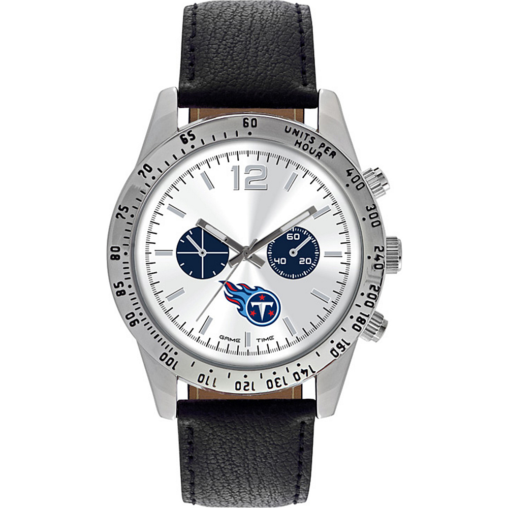 Game Time Letterman NFL Watch Tennessee Titans - Game Time Watches - Fashion Accessories, Watches