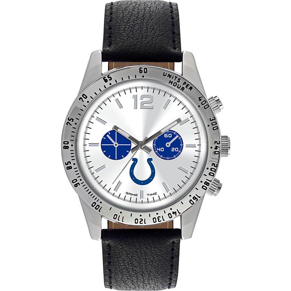 Game Time Letterman NFL Watch Indianapolis Colts - Game Time Watches - Fashion Accessories, Watches
