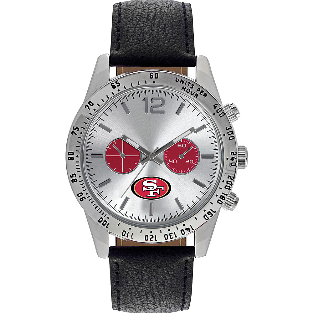 Game Time Letterman NFL Watch San Francisco 49ers - Game Time Watches - Fashion Accessories, Watches