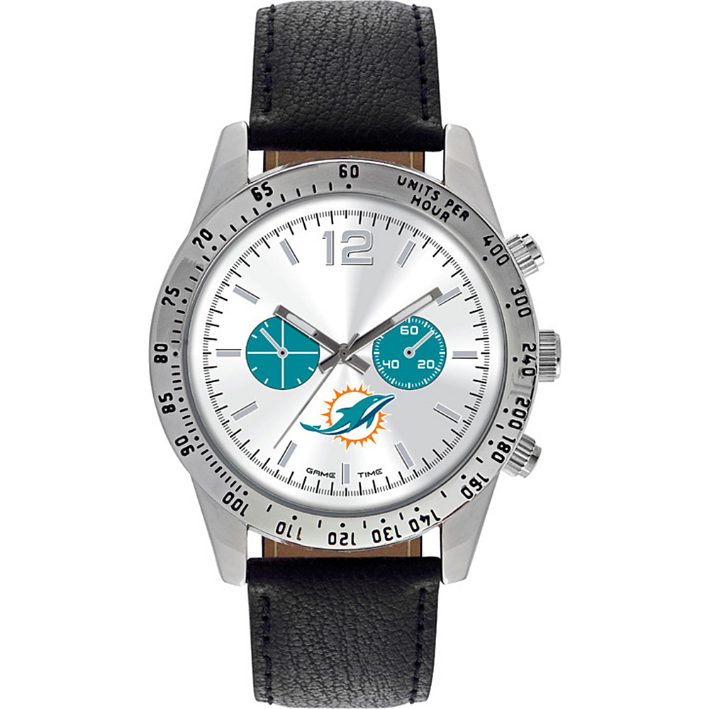 Game Time Letterman NFL Watch Miami Dolphins - Game Time Watches - Fashion Accessories, Watches