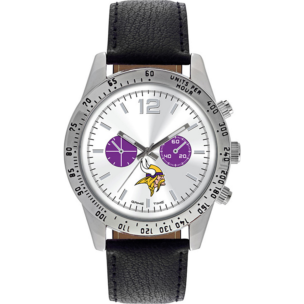 Game Time Letterman NFL Watch Minnesota Vikings - Game Time Watches - Fashion Accessories, Watches