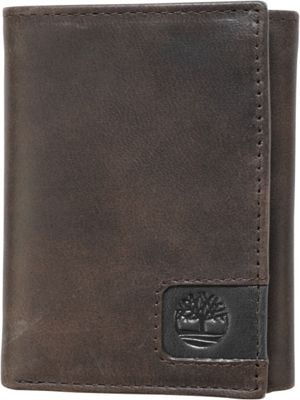 Timberland Wallets Cloudy Logo Tab Trifold Brown - Timberland Wallets Men's Wallets