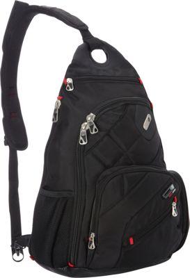 ful 18 inch Brick House Backpack Black - ful Business & Laptop Backpacks