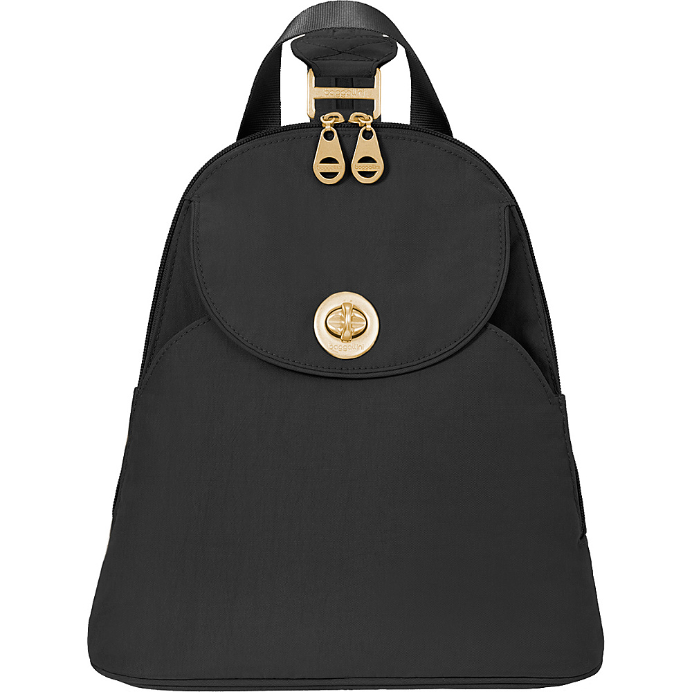 baggallini Gold Cairo Backpack Black - baggallini Fabric Handbags