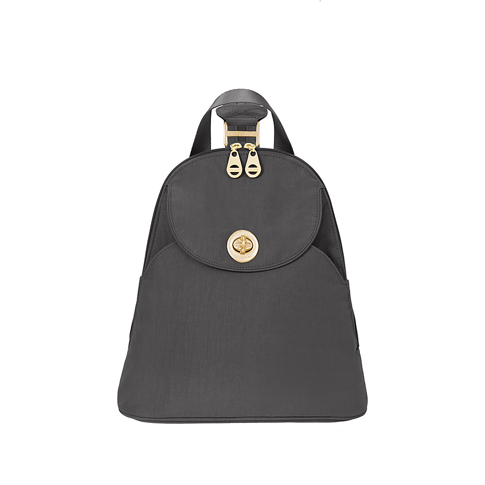 baggallini Gold Cairo Backpack Charcoal - baggallini Fabric Handbags - Handbags, Fabric Handbags