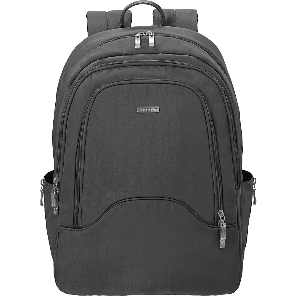 baggallini Step Backpack Charcoal baggallini Everyday Backpacks