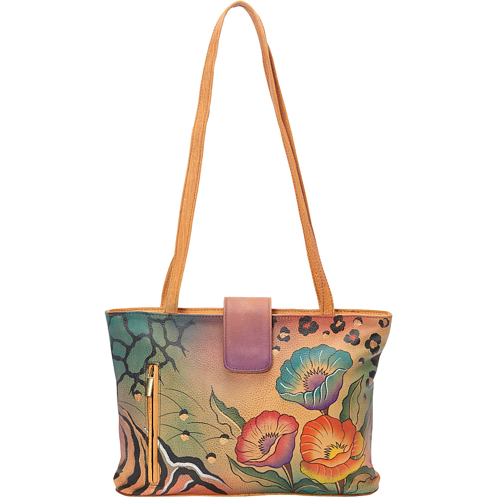 ANNA by Anuschka Medium Tote Animal Floral ANNA by Anuschka Leather Handbags