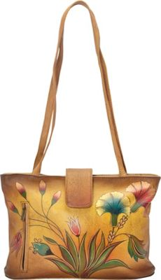ANNA by Anuschka Medium Tote Turkish Garden - ANNA by Anuschka Leather Handbags