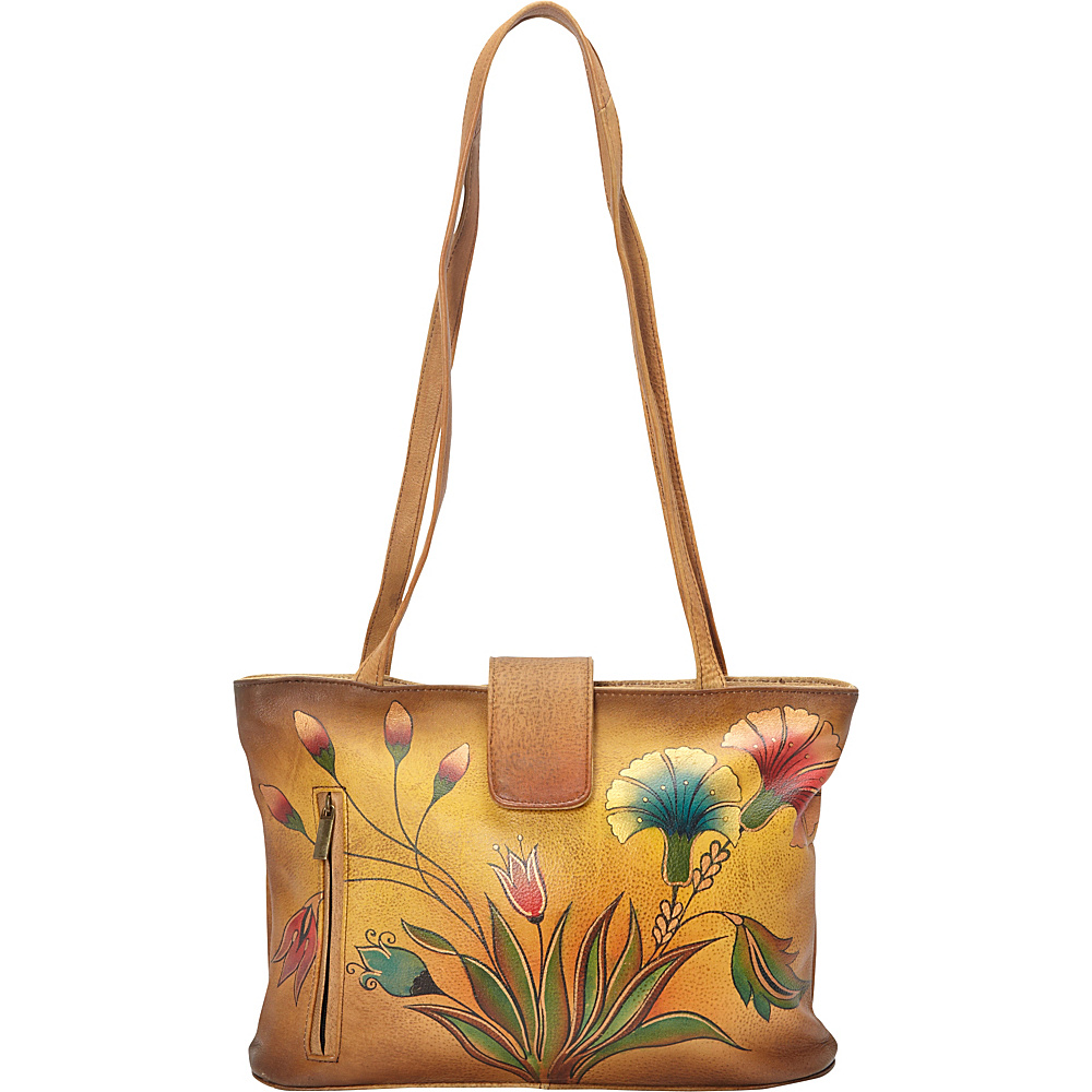 ANNA by Anuschka Medium Tote Turkish Garden ANNA by Anuschka Leather Handbags
