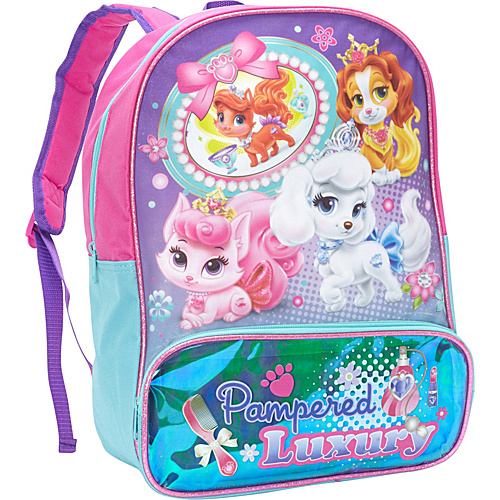 Disney Princess Palace Pets Backpack Pink - Disney School & Day Hiking Backpacks